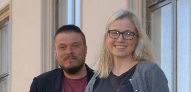 VIL VINNE:  Det er tid for mer Arbeiderpartipolitikk i Halden, mener Linn Laupsa og Helge Bangsmoen Bergseth