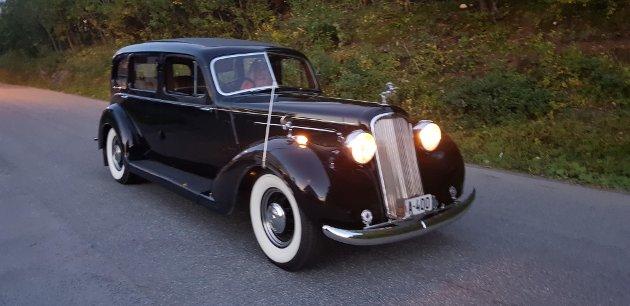 Denne bilen var eid av dronning Maud. Under krigen var bilen en av Vidkun Quislings tjenestebiler.