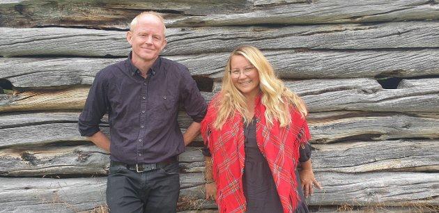 Lars Haltbrekken og Hilde Danielsen (SV)