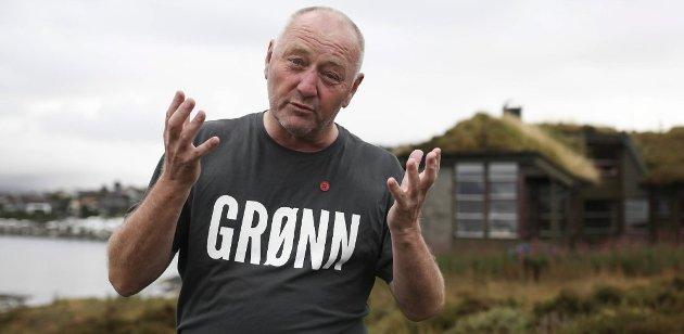 UVERDIG: Stein Malkenes beklager at det blei løyvd penger til fotballhall i Flora.