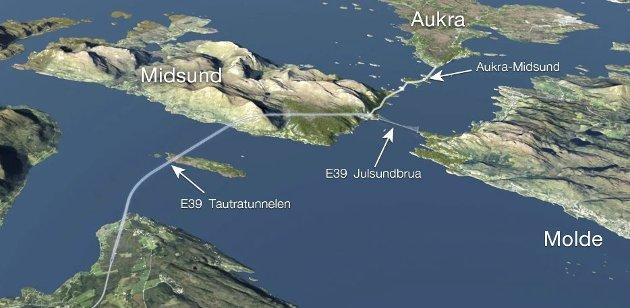 Om Møreaksen går ut av NTP, så vil gryteklare prosjekter ellers i Norge stå i kø, hevder Rasmus Rasmussen.