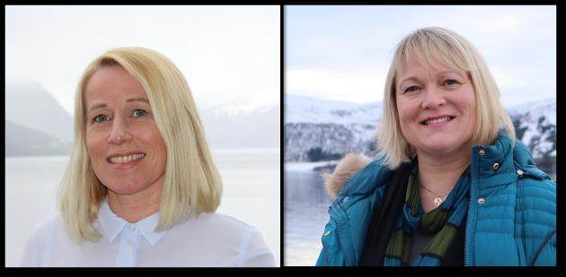 Marianne Synnes Emblemsvåg og Lena Landsverk Sande