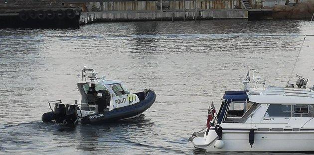 Må vise seg: Synlig politi på sjøen er eneste faktor som teller, skriver innleggsforfatteren. Foto: arkiv