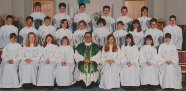 Borge kirke 6. juni 1993.