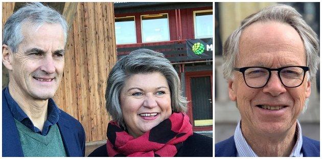 UTREDNING: Partileder Jonas Gahr Støre og fylkesleder Anita Ihle Steen opplever et økende krav fra fagbevegelsen om tydelighet i å sikre ryddighet i arbeidslivet. Når vil Ap-toppene bekrefte støtten til ny EØS-utredning, slik Støre noe beklemt sa ja til i februar i 2020?