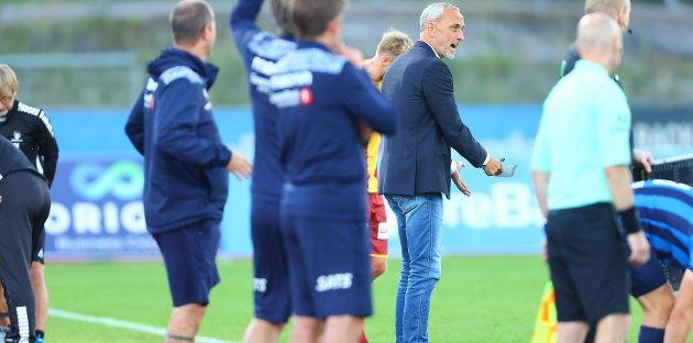 Ny nedtur: Lars Bohinens tid i Sarpsborg 08 har så langt vært preget av mange nedturer. I går kom en ny mot Stabæk på Nadderud.