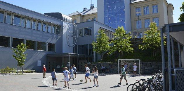 Kragerø skole.