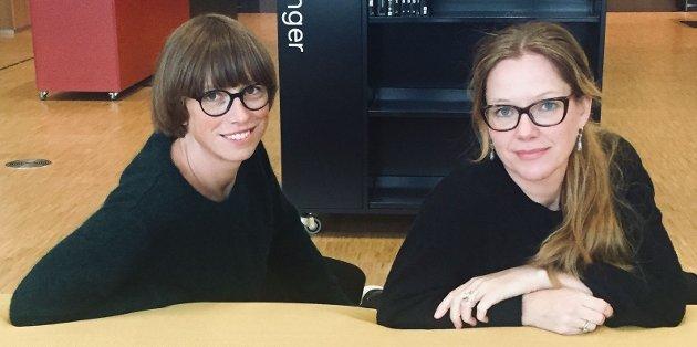 Ida Gudding Johnsen, stortingskandidat i Nordland og Anja Johansen statssekretær i Kunnskaps- og integreringsdepartementet og leder i Nordland Venstre