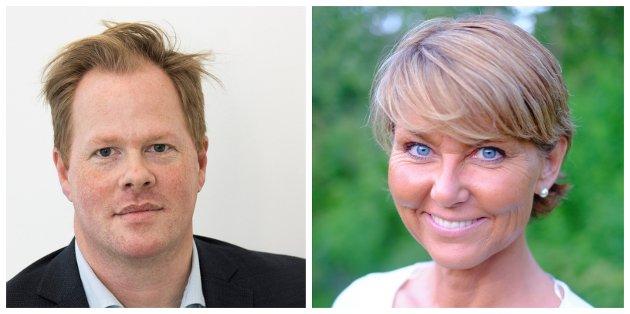 HØYRE: Fylkeskommunen bør hjelpe kommunene med å gå sammen for å lage attraktive regionale vekstsentre, skriver Oddvar Møllerløkken og Hanne Alstrup Velure (H).