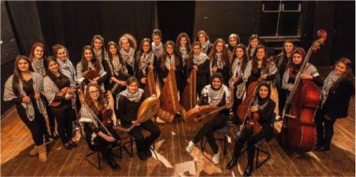 Daughters of Jerusalem er noen av de flotte palestinske stemmene.