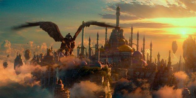 STOR- OG FEILSLÅTT: «Warcraft: The Beginning» har store ambisjoner. For store for de snaue to timene den varer. 8FOTO: UIP