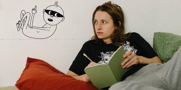 Ukens anbefaling er «Fallteknikk»  - det  er tegneserieromanen bak en av årets mest kritikerroste filmer, «Ninjababy»..
