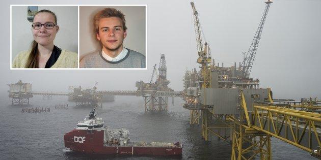 OLJE: 4. - 12. november pågår Klimasøksmålet mot staten i Høyesterett. Får klimasøksmålet medhold i også Norge, så er det en stor seier, skriver Sigrid Daae Mæland (Grønn Ungdom) og Christoffer Tallerås (MDG)..