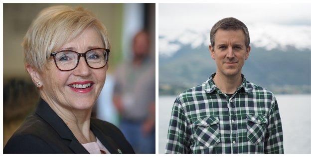 - Vi kjem til å vere den tydelegaste motstandaren til eit Høgre som arbeider for norsk EU medlemskap, skriv Erling Sande og Liv Signe Navarsete.