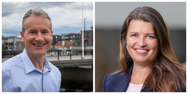 Olve Grotle, storingskandidat for Høgre i Sogn og Fjordane og Liv Kari Eskeland, stortingsrepresentant for Høgre i Hordaland.