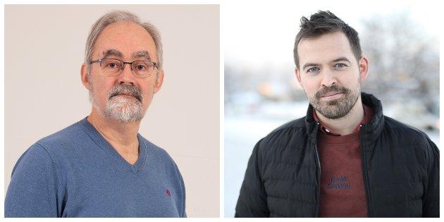 1. kandidat for Raudt, Geir Oldeide utfordrar Ap sin 1. kandidat Torbjørn Vereide.