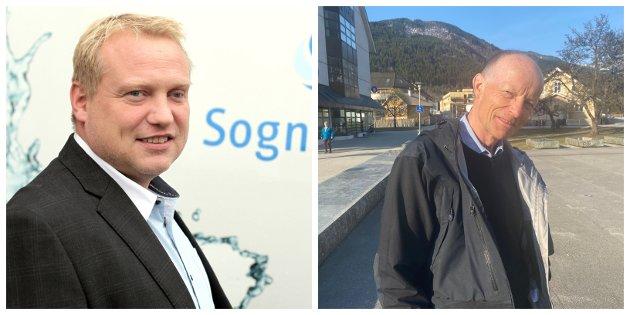 SVAR: Her svarar konserndirektør i Sognekraft, Terje Bakke Nævdal, på Jan Arild Rømmen sine spørsmål om framdrifta i Henjadalen.