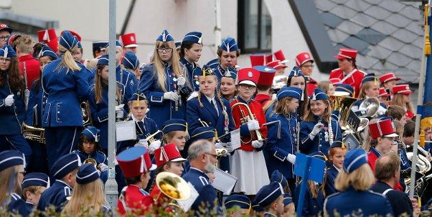Haugesund 2005 2017 Korpsenes dag i Haugesund sentrum