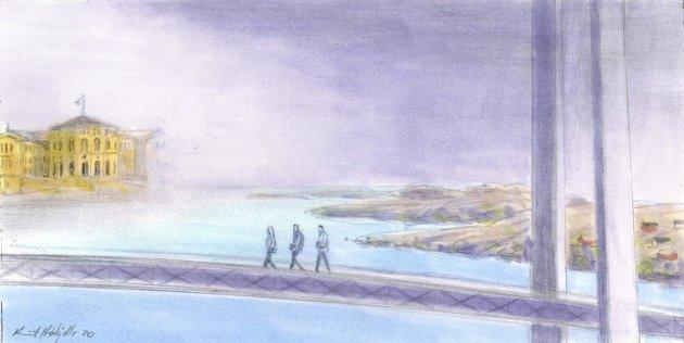 Tegning: Knut Høihjelle