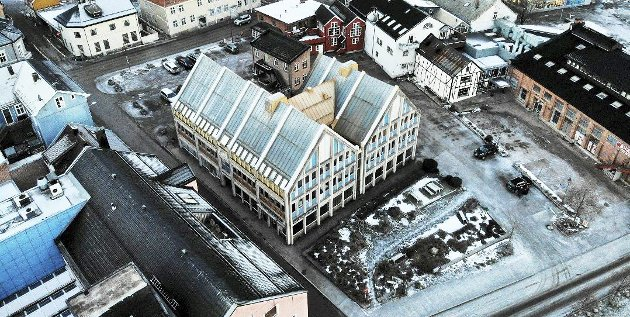 Skal rives: «Det blir bra til slutt», har det blitt sagt mange ganger de siste årene i Holmestrand. Foto: Ulrikke G. Narvesen