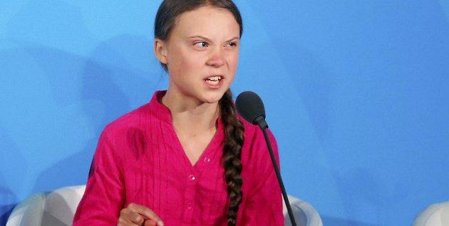 Engasjert: Greta Thunberg har rett når hun anklager vestens ledere for å ikke ta klimatrusselen på alvor, mener Roar Thorsen.Foto: Jason DeCrow/Ap Photo