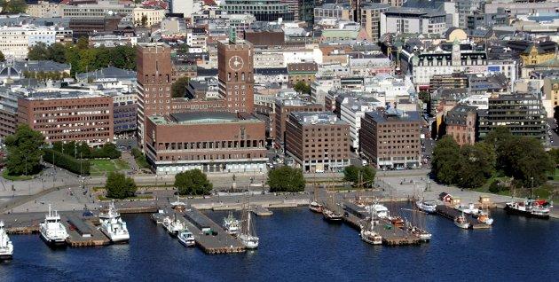 Formålsløst: Praktisk talt hele Akershus, og deler av Østfold og Buskerud har Oslo som sitt tyngdepunkt. Uten Oslo blir Viken bare et formålsløst monsterfylke, skriver innsenderen.  Illustrasjonsfoto: NTB scanpix