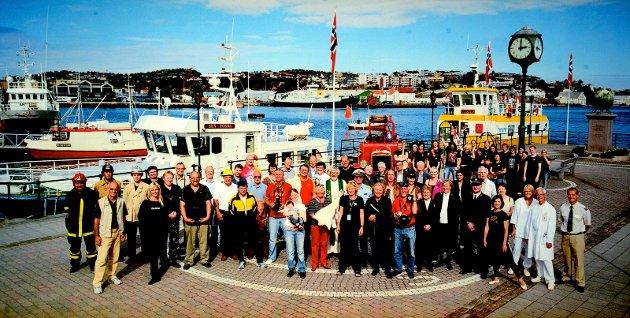Det aller første bildet som ble tatt under Nordic Lights første festival i 2006.