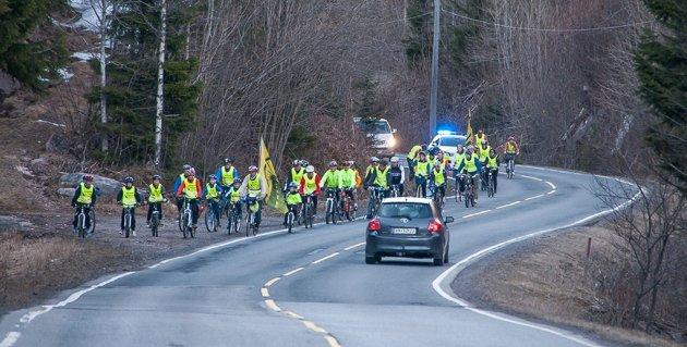 SYKKEL: Harald Jørgensen fra Klokkarstua skriver om syklistenes sikkerhet.
