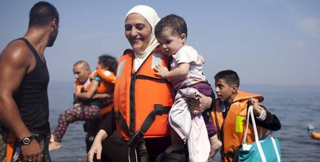 LETTELSE: Enda en syrisk familie har klart å komme seg til Europa. Vi m ta dem imot med åpne armer, mener Hans-Petter Kjøge. Foto: Reuters