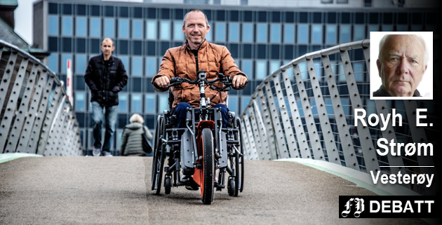Geir Rugsveen Engen har vekket følelser hos FB-lesere ved å fortelle om sitt liv med ALS. Her forteller Royh E. Strøm om vennen som etter en vanskelig prosess fikk oppleve alt det Rugsveen Engen ønsker seg.