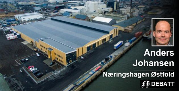 Borg Havns nye lager på Øra kan være  eksempel og bevis på at tre duger, også i store konstruksjoner. Arkivfoto: Erik Hagen