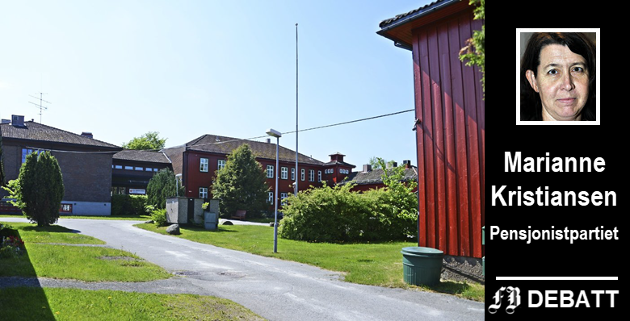 Til tross for en skrantende bygningsmasse bør Emil Mørchs Minne drives videre inntil nye Onsøyheimen kan tas i bruk, mener Marianne Kristiansen og Pensjonistpartiet.