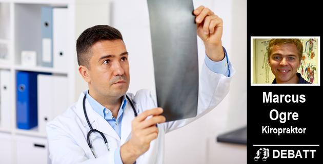 Røntgen av rygg