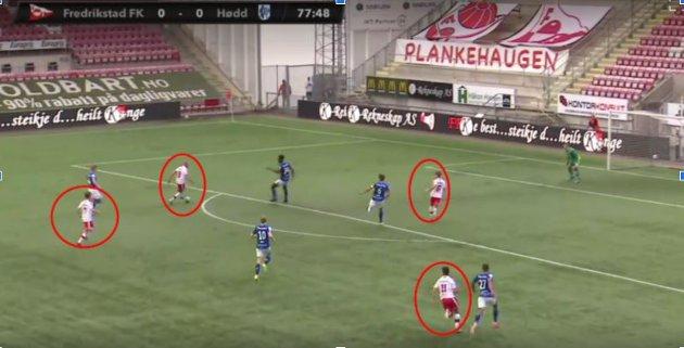 FFK fylte på med flere spillere fremover under angrepet som ble matchavgjørende.