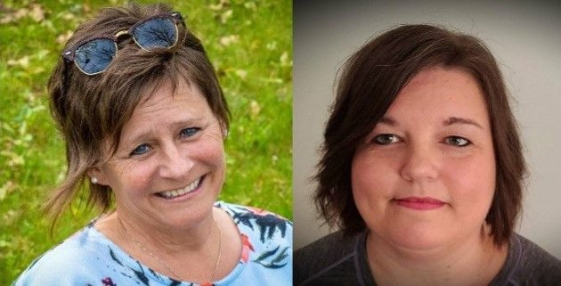Carol Nyland Ramussen og Linda Pettersen