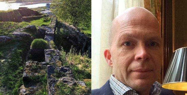 MULIGHETER: Et tydeligere borganlegg vil kunne bli en døråpner for at flere blir kjent med nordisk middelalderhistorie, skriver Thor Arve Vartdal.