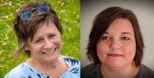 Carol Nyland Rasmussen og Linda Pettersen