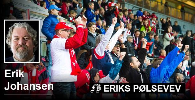 Når opprykkstoget skal begynne å rulle søndag, så bør du som leser dette befinne deg på stadion. Man sitter ikke hjemme på en slik dag. Søndag klokken 18.00 er det møteplikt på Fredrikstad stadion, skriver FB-spaltist Erik Johansen.