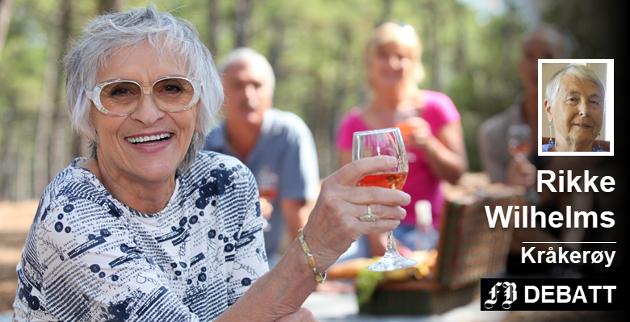 Spreke eldre: Jente- (eller gutte-) tur er populært uansett alder. – Det sier  noe om vår holdning til alder, mener Rikke Wilhelms. Foto: Mostphotos