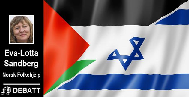 – Dyp politisk splittelse i eget lederskap og årtier med brutal israelsk okkupasjon skaper store frustrasjoner for det palestinske folket, skriver Sandberg.