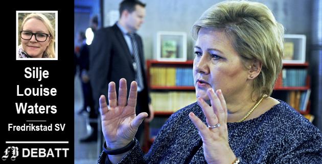 – Det handler ikke om noe så «trivielt» som politisk uenighet når man nå retter kritikk mot landets statsminister, skriver Fredrikstad SVs andrekandidat i dette innlegget.