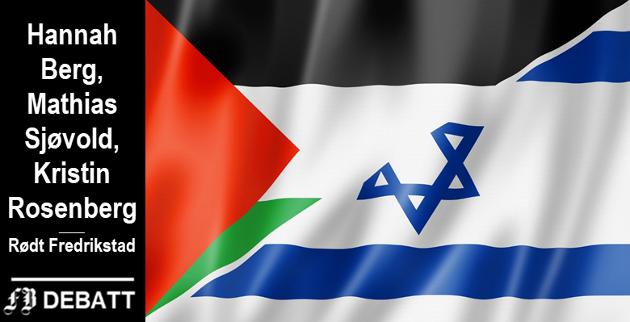 – Tveter stiller seg uforstående til den kraftige fordømmelsen og opposisjonen Israel møter internasjonalt, og mener videre at årsaken til protestene mot Israel må bunne i antisemittisme. Dette er illusorisk.