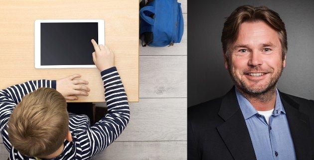 MÅ VURDERES: Lærere må læres i kritisk vurdering på når den passer seg som undervisningsform, og når det er best å legge nettbrettet til side for analog læring, skriver Tom Gjertsen.