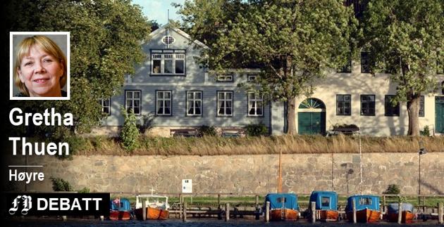 Gamlebyens ansikt utad: – Fritak for eiendomsskatt for verneverdige hus burde være en selvfølge og en gest som Fredrikstad kommune og alle andre kommuner oppfordres til å bevilge snarest og senest i neste års budsjett.