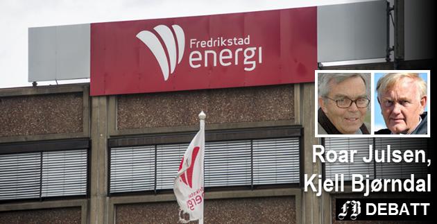Julsen og Bjørndal mener salget av Fredrikstad Energis administrasjonsbygg i 2011 viser at selskapet også den gang var i en svært vanskelig situasjon.