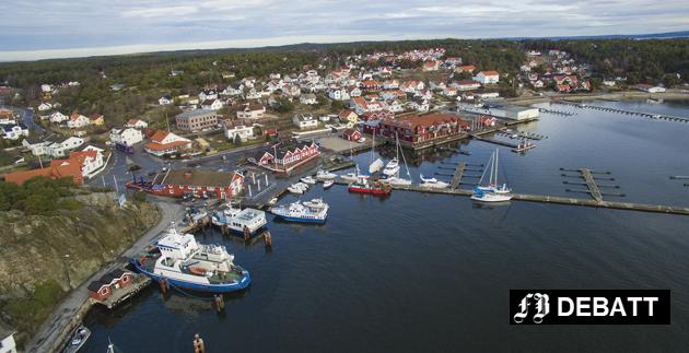Stille på Skjærhalden: Både norsk og internasjonal forskning viser at distrikter som legger ned skoler og barnehager, også fører til nedleggelser av gjenværende næringer.