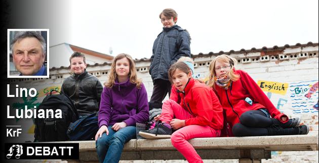 I 2017 hadde vi i Fredrikstad 25 barn i 5. -7. klasse med spesielle behov med et ikke egnet SFO-tilbud, skriver Lino Lubiana.  Illustrasjonsfoto: Colourbox
