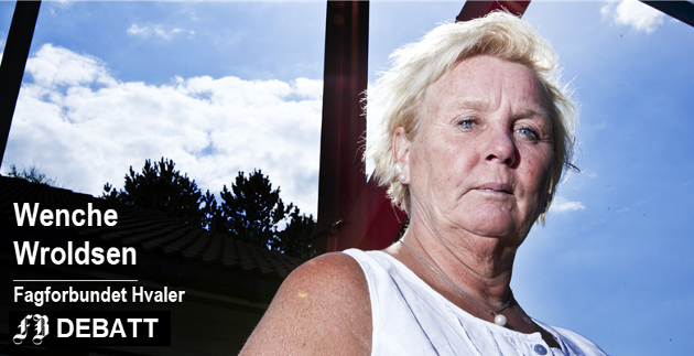 Wenche Wroldsen: – Fagforbundet Hvaler er stolte av  arbeidet som har gitt positive resultater, og for en julegave til alle dere som jobber på sykehjemmet, politikere og Fagforbundet sentralt.