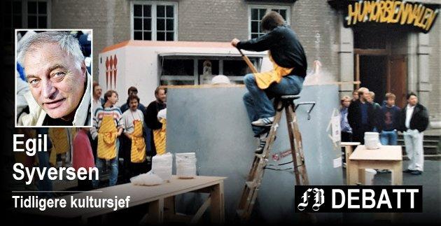 En suppekjele som rommet 3000 liter – et typisk utslag av kreativiteten i Fredrikstad. Innsendt bilde
