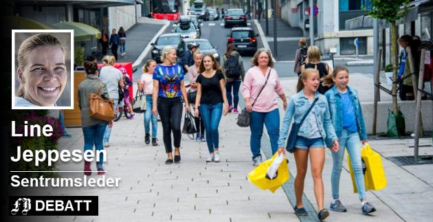 En ny undersøkelse viser glitrende utvikling for Fredrikstad sentrum. Arkivfoto: Erik Hagen